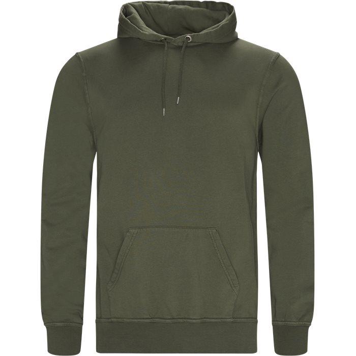 Douro Hoodie - Sweatshirts - Regular - Army